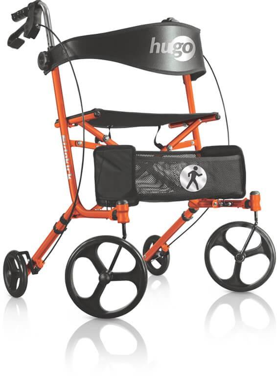 Andador Sidekick Rolling Walker (Assento Tangerine)