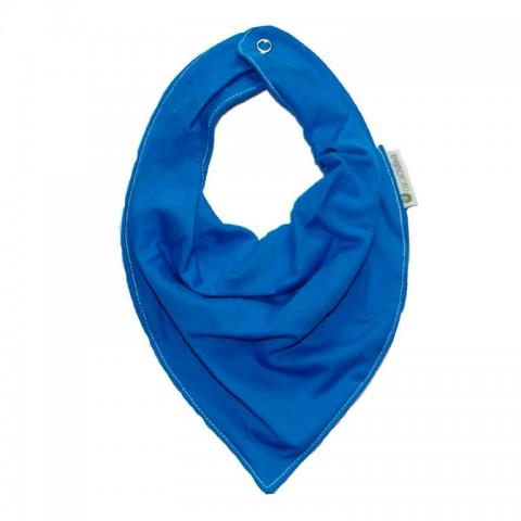 Babador Bandana - Malha Azul Royal