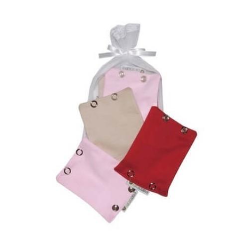 Extensor para Body (02 botões) - Vermelho/Bege/Rosa