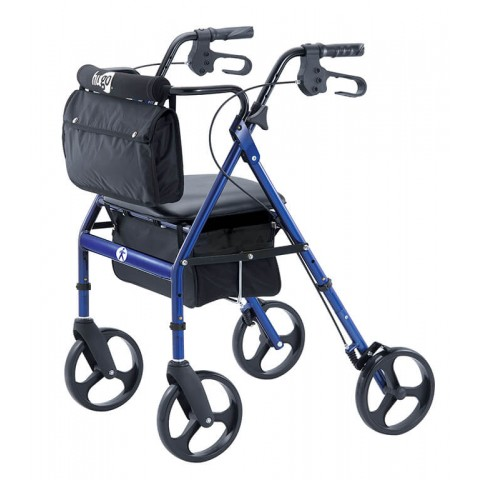 Andador Elite Hugo Rolling Walker - AZUL